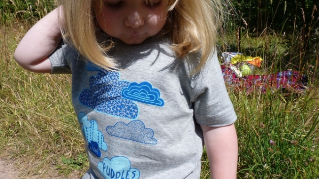 Puddles T Shirt for Mimi and Will by Emma Henderson