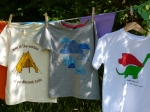 Three T-Shirts from the Mimi and Will A/W 2013 collection
