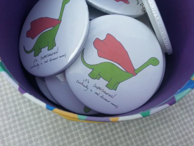 Supersaurus Badges