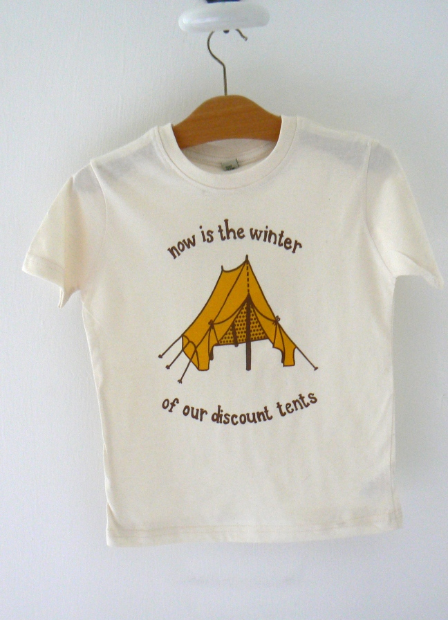 Winter of Our Discount Tents by Laura Donald