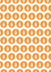 Wrapping Paper- Bright Stem