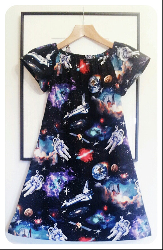 Aspiring Asronauts Dress by Sewing Circus