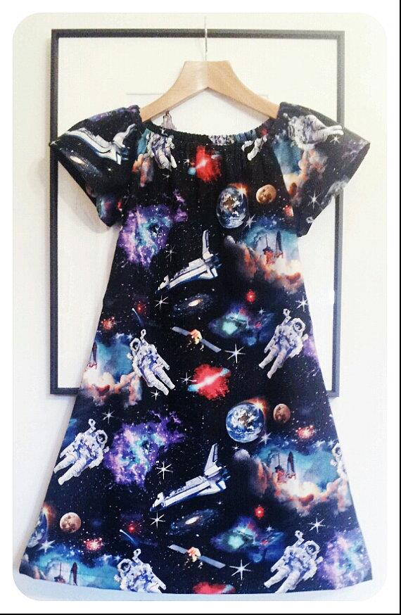 Aspiring Asronauts Dress by Sewing Circus