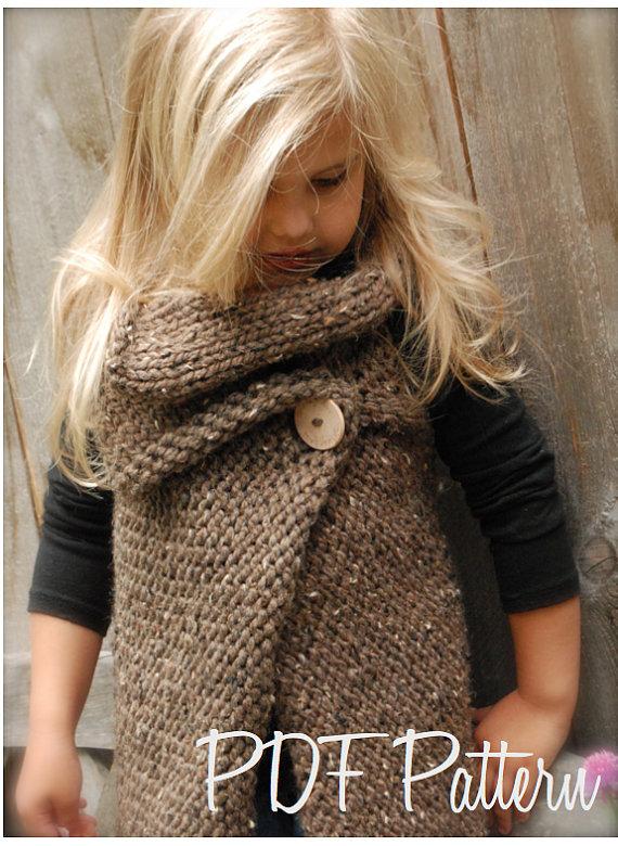 Вязание модных вещей для девочек спицами